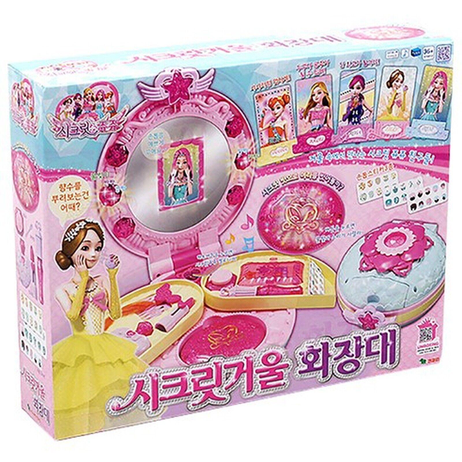 Secret JouJu Mirror Vanity juju dressing table /Korea Animation Girl's Toy gift