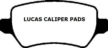 VAUXHALL ASTRA  ZAFIRA 2ND CHOICE OF BRAKE PADS LUCAS CALIPER TYPE OR BOSCH