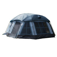 Tahoe Gear Ozark 16-person 3-season Large Family Cabin Tent, Blue | Tgt-ozark-16 on sale