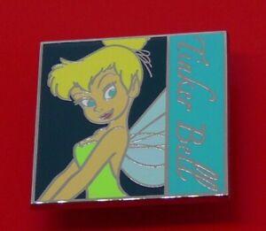 Disney-Square-Enamel-Pin-Badge-Tinker-Bell-Character-Disney-Parks-2012