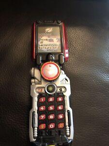2006 Bandai Power Rangers Overdrive Boukenger Accellular Morpher Phone