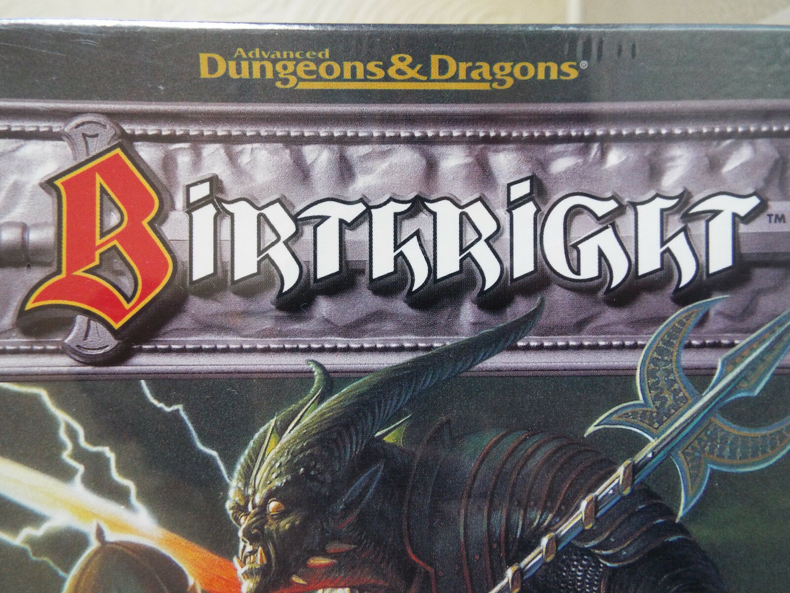 Birthright Vintage 90's Advanced Dungeons & Dragons PC Game New and Sealed