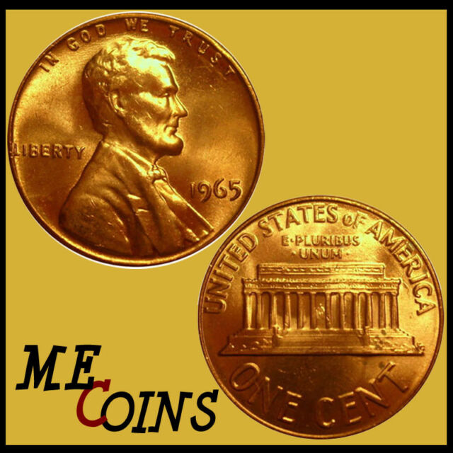 Lincoln Memorial Cent 1965