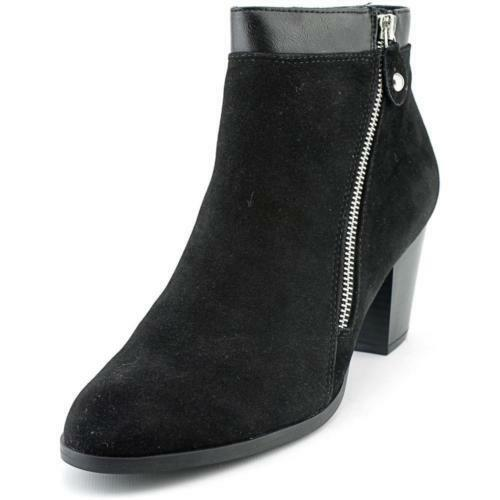 size 5 Style & Co Jenell Black Heel Ankle Booties Womens Shoes
