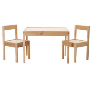 Ikea Lätt Kindermöbel Kindertisch Mit 2 Stühlen Kinder Stuhl Tisch