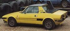 NEW FIAT BERTONE X19 X1/9 1300 REPRODUCTION SPECIAL SERIES LADDER STRIPE DECALS