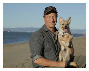 Mike Rowe & his dog Freddy Signed Photo benefits the mikeroweWORKS Foundation