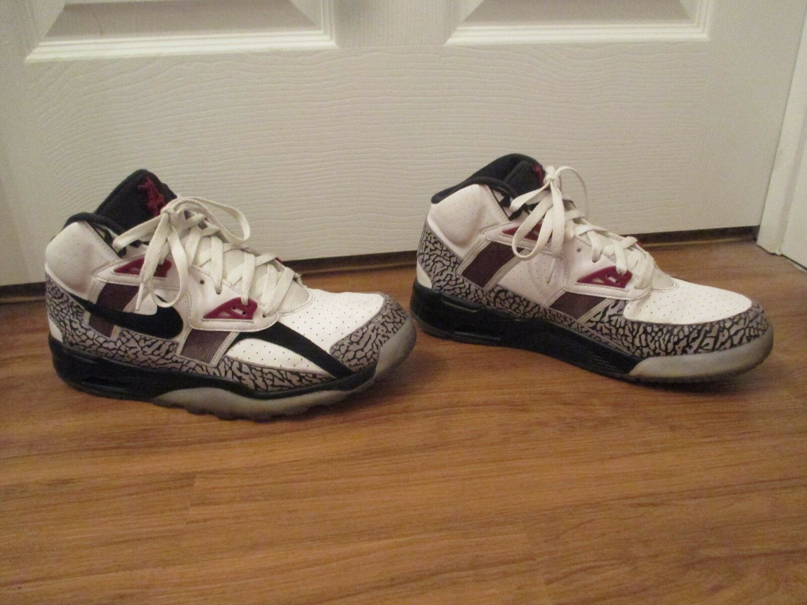 Used Worn Size 11 Nike Air Trainer SC High PRM QS Alabama Crimson Tide Shoes
