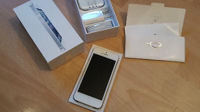 Apple iPhone 5 16GB weiss  simlockfrei & brandingfrei &  iCloudfrei