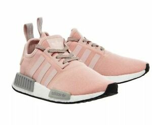 Image is loading Adidas-NMD-Vapour-Light-Pink-Runner-R1-BRAND-