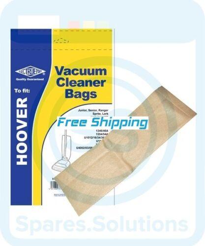 Remplacement sacs pour aspirateurs Hoover U1104-Pack de 5-Type H1