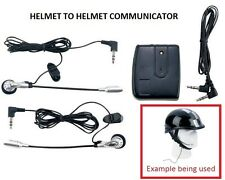 Helmet to Helmet Communicator Motorcycle Intercom Harley Davidson Honda Goldwing