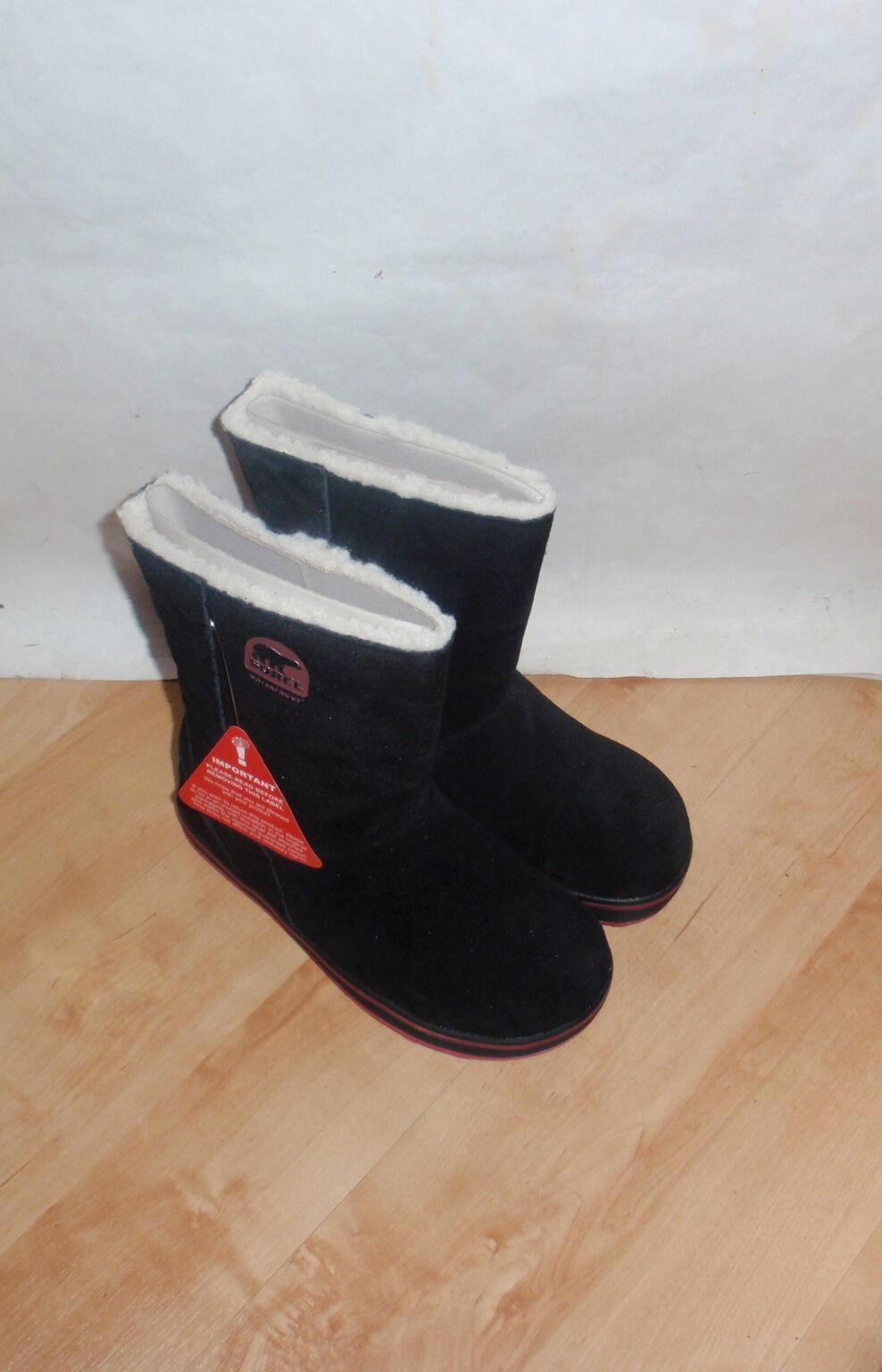 NIB Sorel ladies 'GLACY' suede warm boots lined mid calf winter boots warm size UK 3 EU 36 ecb1ab