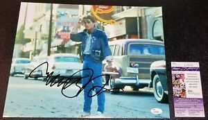 MICHAEL-J-FOX-11x14-BACK-TO-THE-FUTURE-Autographed-Photo-Picture-Signed-JSA-PSA