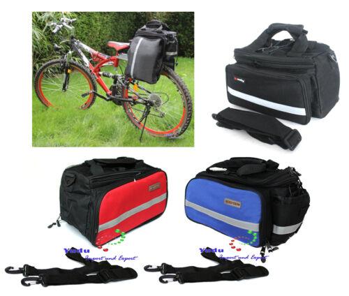 Multifunktionale Fahrrad- Gepäcktasche Satteltasche Wasserdicht Schultergurt