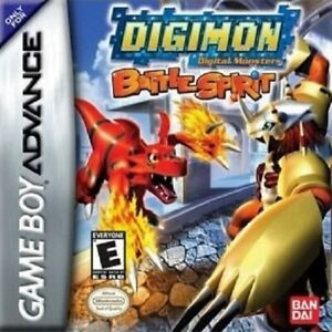 Digimon-Battle-Spirit-GBA-Great-Condition-Fast-Shipping