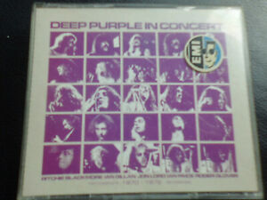 Deep Purple-In Concert, FATBOX 2 CD 1992, Hardrock, Rock