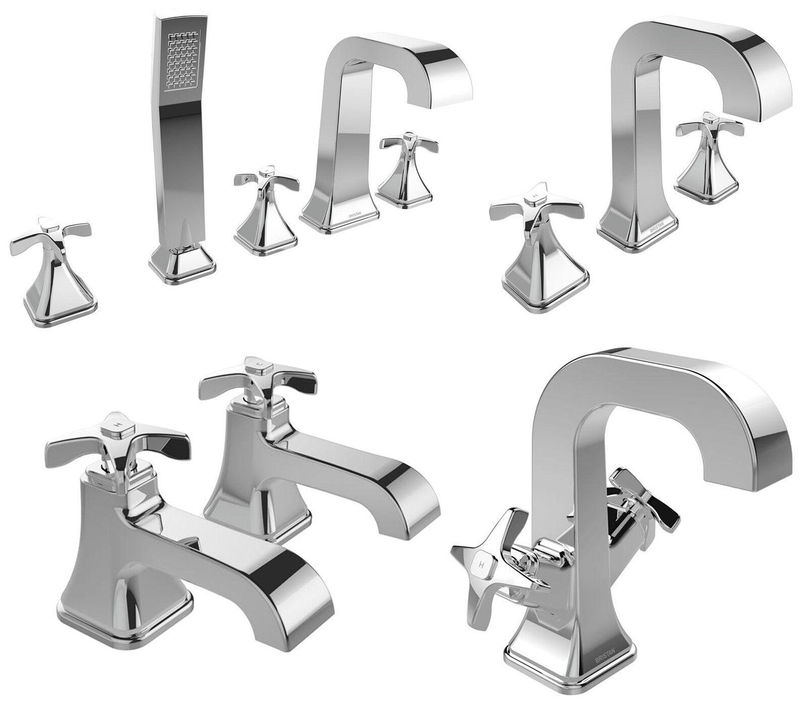 Bristan glorieux robinets mélangeur lavabo bain douche remplissage chrome salle de bains traditionnels