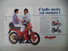 advertising Pubblicità 1987 MALAGUTI FIFTY TOP 50 /HF/FULL CX