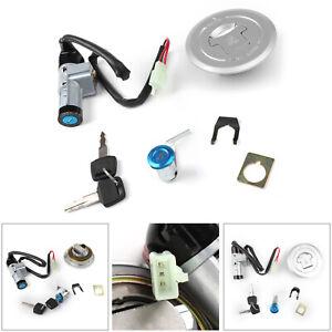 Contacteur-D-039-Allumage-Fuel-Avec-Clefs-Gas-Cap-Cover-Pour-Honda-CBF125-09-13