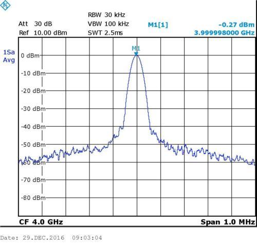 OLED Digital ADF5355 54M-13.6GHz generador de origen rf frecuencia fuente moudle