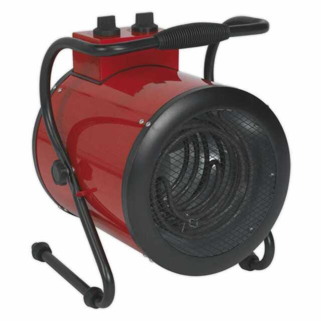 Nuevo Sealey EH5001 Industrial Calentador Ventilador 5kW 415V 3ph