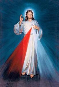 Beautiful Jesus Christ Portrait Glossy Poster Picture Photo Lord God Cross 2324 Ebay