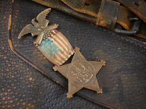 "CIVIL WAR TYPE IV GAR MEDAL"" W"" PREFIX SERIAL NUMBER LOUIS WAGNER ERA1880-81"