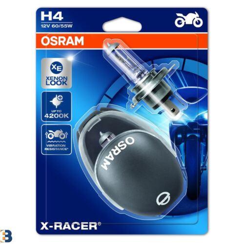 OSRAM H4 Halogen Birne X-RACER 64193XR-02B 12V 60//55W 472 Motorrad Twin