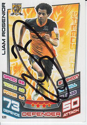 HULL CITY HAND SIGNED ABDOULAYE FAYE MATCH ATTAX CARD 12/13. Verzamelkaarten: sport