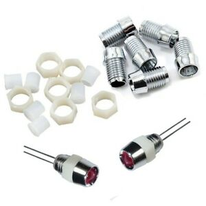S822-50-Stueck-LED-Fassungen-fuer-5mm-LEDs-Kunststoff-Fassung-Halter-Holder