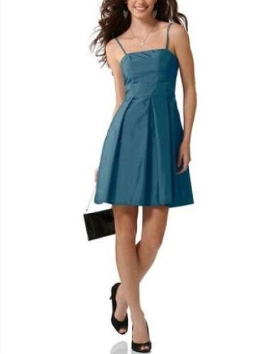 °914 40 smaragd Schönes Kleid//Taftkleid von laura scott C.M Gr