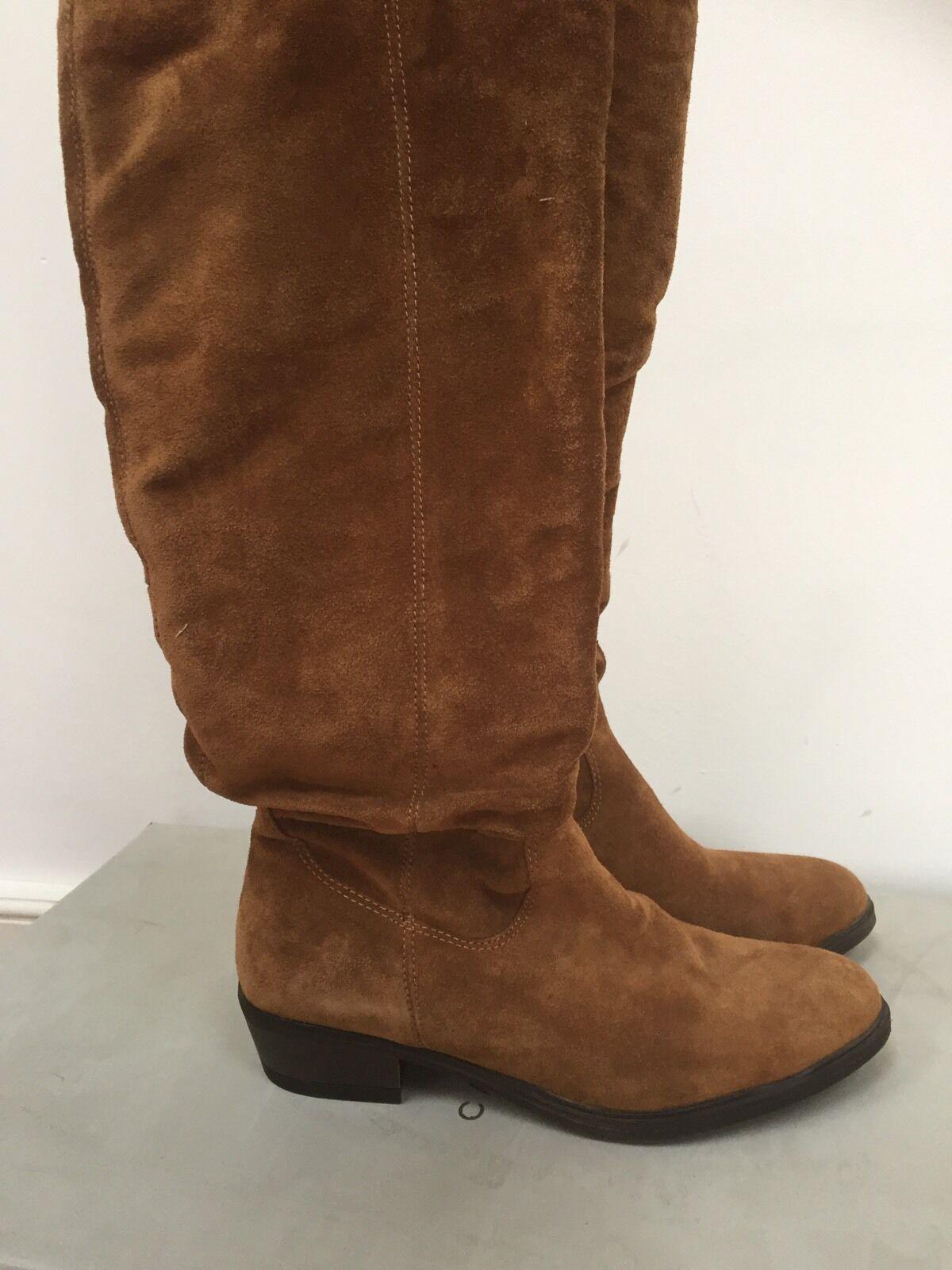Carvela Kurt Geiger Suede Stiefel    Leather schuhe Größe 4 Euro 37 d3265f