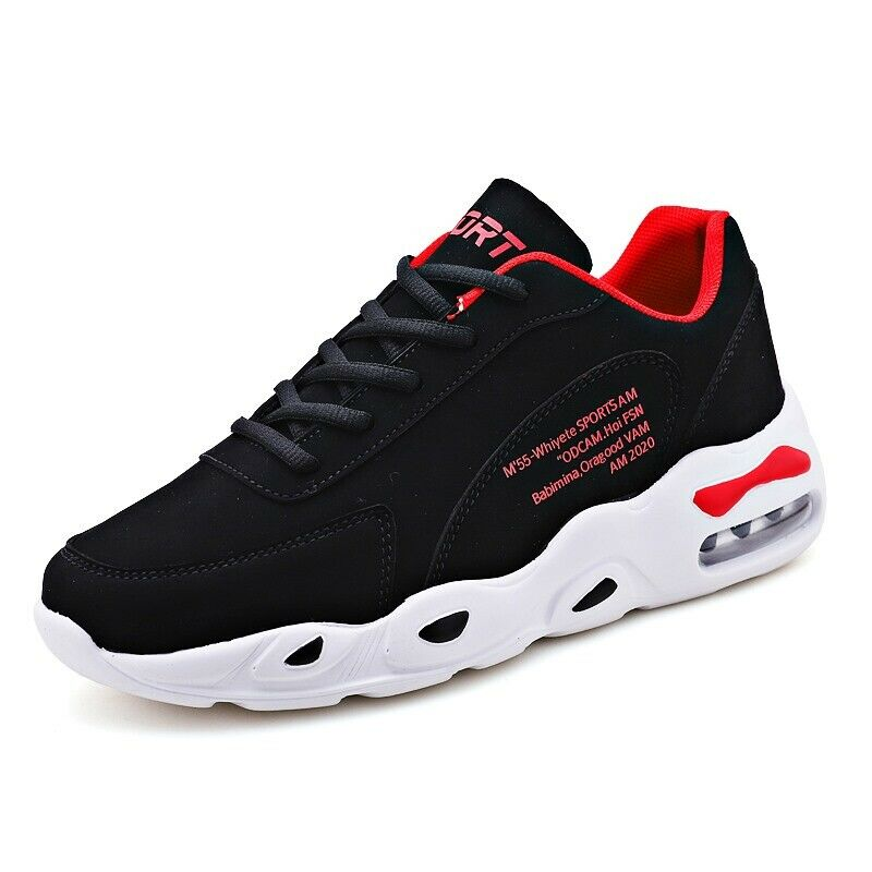 Fashion Sneakers Athletic Lace Up Mens Running shoes Breathable Sports Casual Us