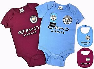 big sale 2cc59 1ded2 MANCHESTER CITY FC 2018 BABIES PRAM BODY SUIT ...