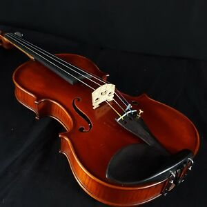 New-Enesco-Workshop-4-4-Violin-Outfit-Romanian-Made-w-Carbon-Fiber-Bow