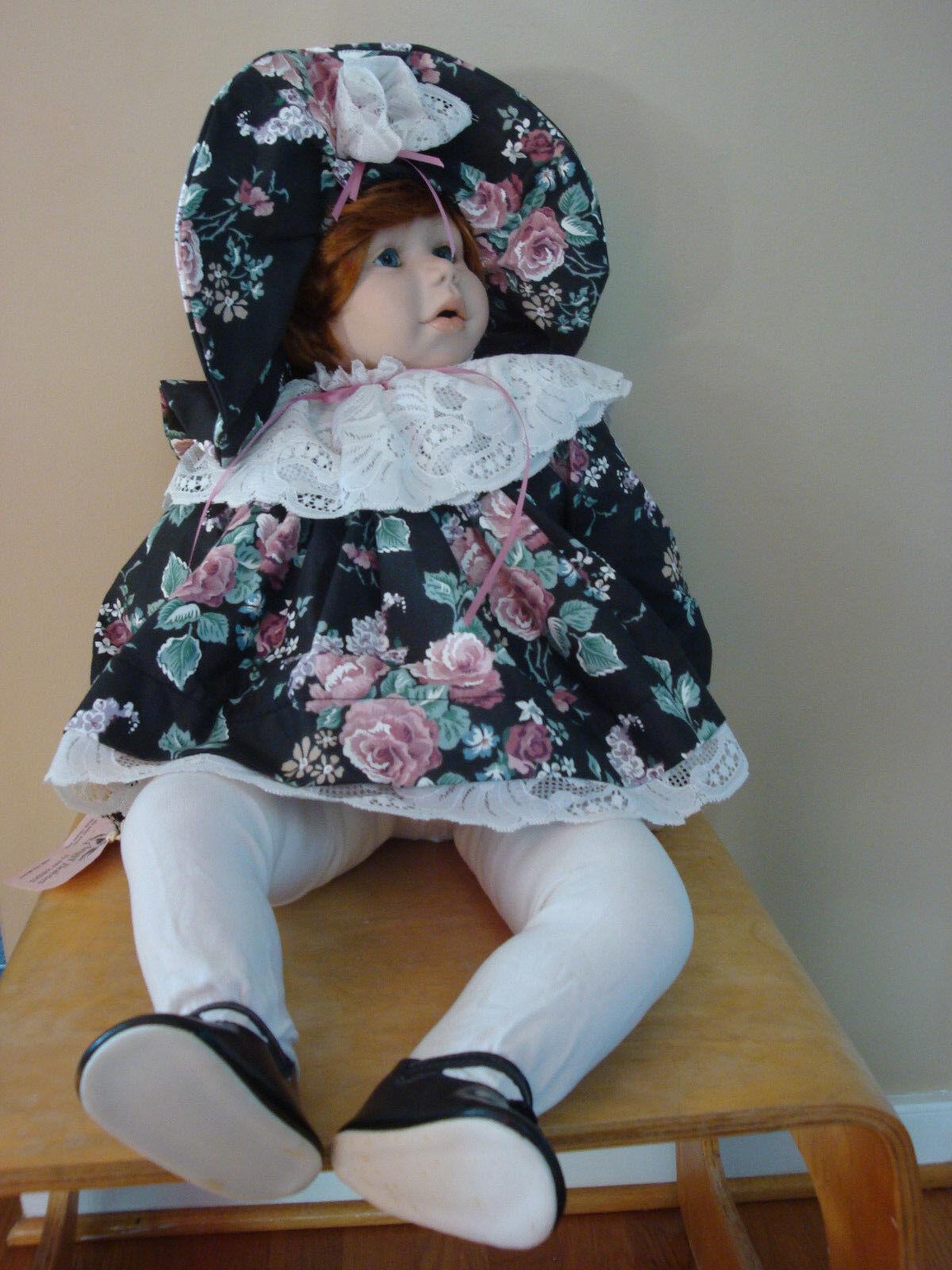 Pat Weeks  Sara Jane  Porcelain Doll 1993 Limited Edition No.2 25