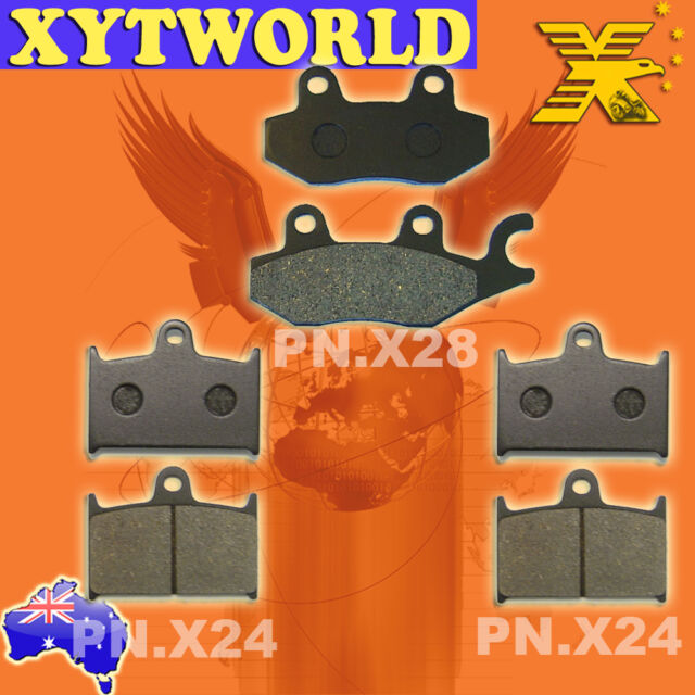FRONT REAR Brake Pads TRIUMPH Trophy 1200 From VIN 4902 1994-1998 1999 2000 2001