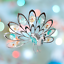 Crystocraft-Proud-Peacock-Crystal-Ornament-With-Swarovski-Elements-Gift-Boxed thumbnail 2