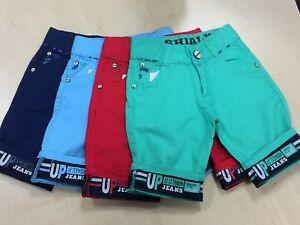 Boys-Shorts-Kids-Cotton-Chino-Shorts-Summer-Knee-Length-Half-Pant-New-Age-3-14-Y