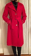 APART Mantel aus Schurwolle, rot