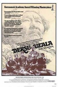 DERSU UZALA (THE HUNTER) Movie POSTER 27x40 Maksim Munzuk Yuri Solomin Svetlana   eBay