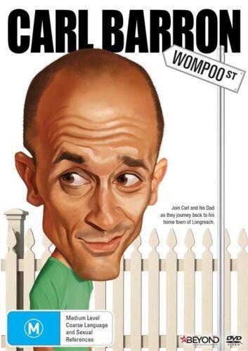 1 of 1 - Carl Barron - Wompoo Street (DVD, 2014) New  Region 4