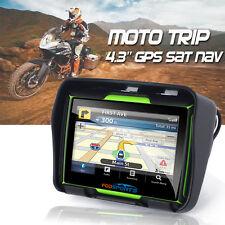 "MOTORCYCLE GPS ADV ATV BIKE NAIVIGATION 4.3"" 8GB 256M WATERPROOF SAT NAV US MAPS"