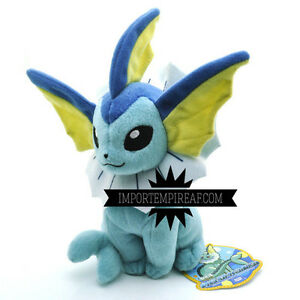 Pokemon - Aquali Chaussons Peluche - Import Empire AF