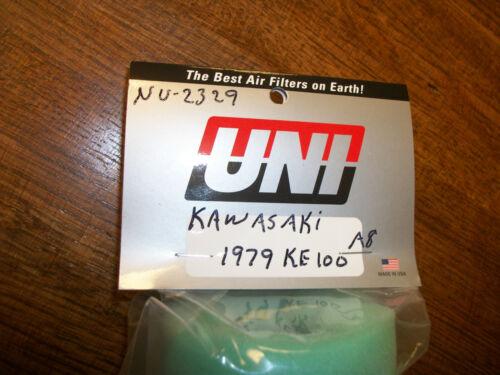 Kawasaki KE100 1979-81 Air Filter /& Wire Cage UNI NU-2329 Kaw 11013-1008