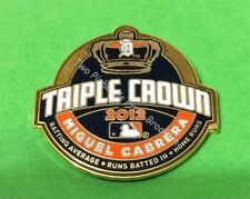 DETROIT TIGERS MIGUEL CABRERA MLB 2012 TRIPLE CROWN TITLE WINNER PIN