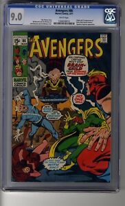 Avengers-86-CGC-9-0-White-Pages-Squadron-Supreme-appearance-First-Brain-Child