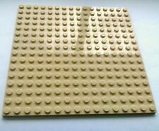 "LEGO Lot of 4 Plate 16X16 5/""x5/"" Bright Tan 4611414 91405"