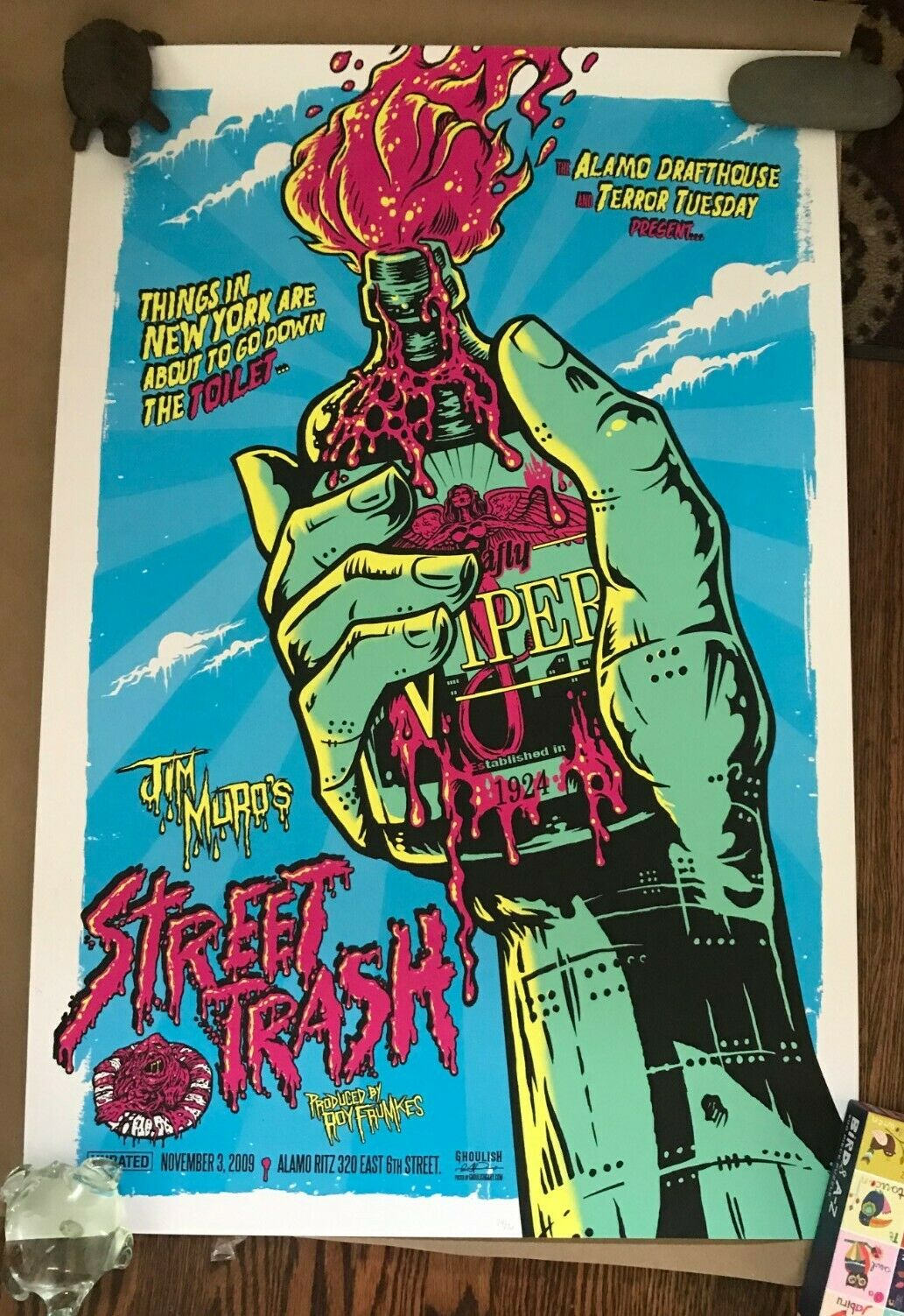 Mondo Print Gary Pullin - Street Trash Rare on eBay thumbnail
